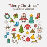 Vector Christmas set Royalty Free Stock Image