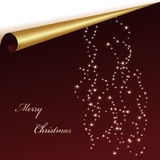 Vector Christmas sheet Royalty Free Stock Images
