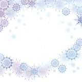 Vector christmas snow background Stock Photo