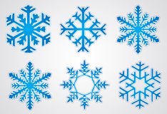 Vector christmas snowflake Royalty Free Stock Photography