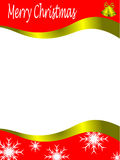 Vector christmas stationary Royalty Free Stock Photos