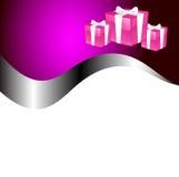 Vector christmas stationary Royalty Free Stock Photography