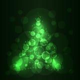 Vector Christmas Tree Stock Photography