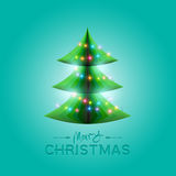 Vector Christmas Tree vector illustration