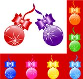 vector Christmas tree decoration Royalty Free Stock Image