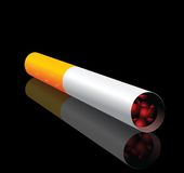 Vector cigarette stock illustration