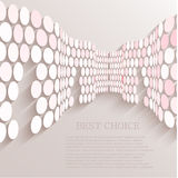 Vector circle abstract background. Eps10. See my other works in portfolio royalty free illustration