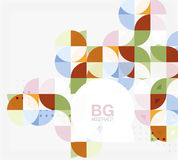 Vector circle abstract background Royalty Free Stock Photography