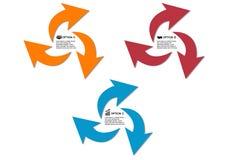 Vector circle arrows Royalty Free Stock Image