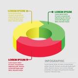 Vector circle arrows infographic. Royalty Free Stock Photos