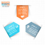 Vector circle arrows infographic, diagram, graph, presentation, chart. Business cycle concept with 3 options, parts Royalty Free Stock Images