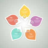 Vector circle arrows infographic, diagram, graph, presentation Royalty Free Stock Photo