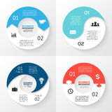 Vector circle arrows infographic. Template for Stock Photography