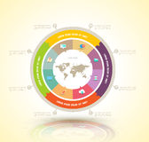 Vector circle business concepts Stock Image