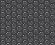 Vector circle gray background pattern Royalty Free Stock Photos