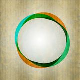 Vector circle grunge abstract background. Royalty Free Stock Photo