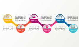 Vector circle infographic. Business diagrams, presentations and charts. Background. Vector circle infographic. Business diagrams, presentations and charts Royalty Free Stock Photos