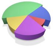 Vector circle infographic. Stock Illustration Stock Photos