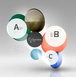 Vector circle infographics Stock Photo