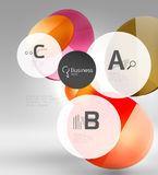 Vector circle infographics Stock Photos
