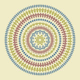 Vector Circle Pattern Stock Images