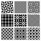 Vector Circle Patterns Stock Images
