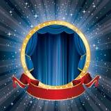 Circus star burst banner Royalty Free Stock Photos