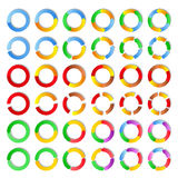 Vector Circles Royalty Free Stock Photo
