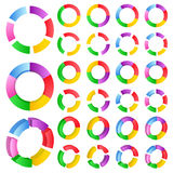 Vector Circles Royalty Free Stock Image