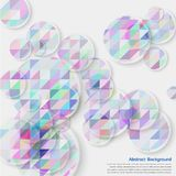 Vector circles mini 29.08.13. Vector abstract background. Color Circles and colorful stock illustration