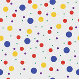 Vector circles seamless pattern Stock Image