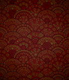 Vector circles seamless pattern. Stock Images