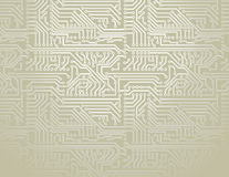 Vector circuit board background stock illustration