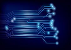 Vector Circuit Board background Stock Photos