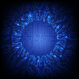 Vector circuit board background Stock Image