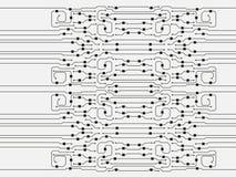 Vector circuit board illustration. Abstract circuit board background. Abstract circuit board background illustration royalty free illustration