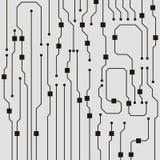 Vector circuit board illustration. Abstract circuit board background vector illustration