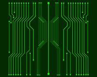 Vector circuit board illustration EPS10. Vector circuit board illustration. EPS10 royalty free illustration