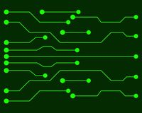 Vector circuit board illustration EPS10. Vector circuit board illustration. EPS10 vector illustration