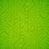 Vector circuit board or microchip. Royalty Free Stock Photography