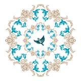 Vector circular ornament Stock Photography
