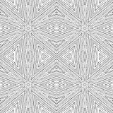 Vector circular pattern in grunge style. Lined pattern. Hipsters, boho, rustic Stock Image