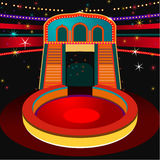 Vector Circus Arena Stock Image