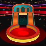 Vector Circus Arena Stock Image