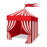 Vector circus or carnival tent stock illustration