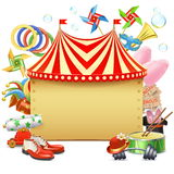 Vector Circus Marquee Stock Photos
