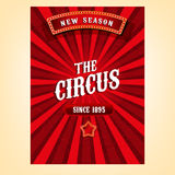 Vector Circus Poster Royalty Free Stock Images