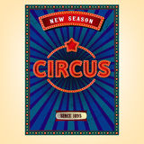 Vector Circus Poster Stock Image