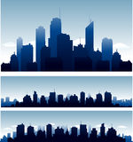 Vector cities Stock Photography