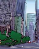 Vector City stock illustration